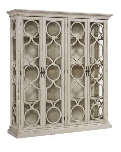 Lydia Double Display Cabinet