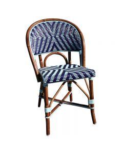(DD) Weave in Dark Blue and Azur Nylon