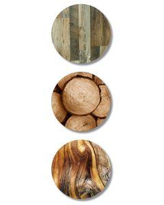 Wood Veneer Fusion Table Top