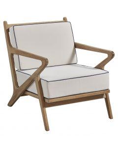 Mia Teak Outdoor Chair