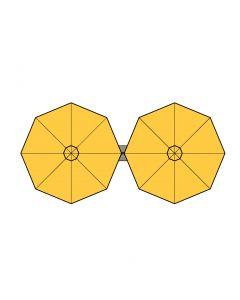 P6-DUO-Round All Weather Umbrella