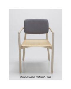 Zot Armchair WOB Wood Seat PL 06